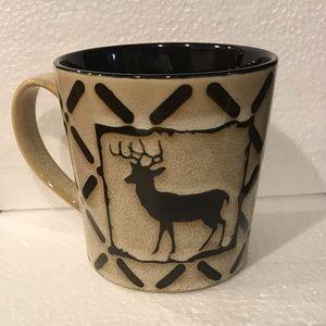Pfaltzgraff Kitchen - ✅🆕Pfaltzgraff mug deer brown and tan 16 oz.